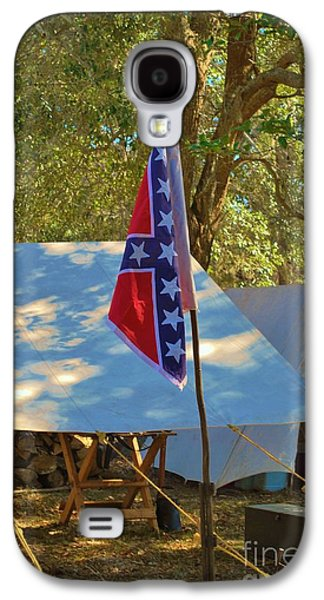Confederate Encampment At Fort Anderson  Galaxy S4 Case by Jocelyn Stephenson