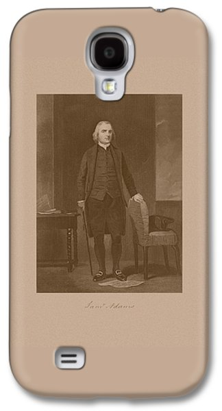 Founding Father Samuel Adams Galaxy S4 Case by War Is Hell Store