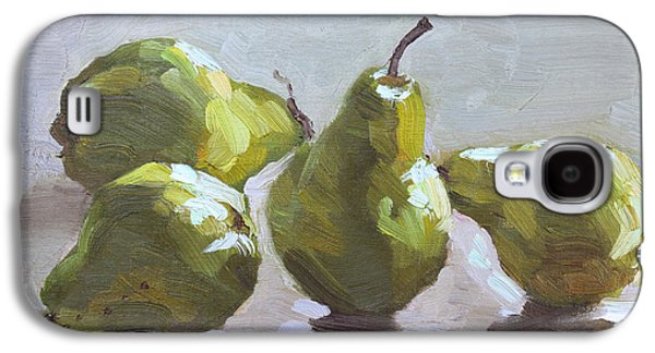 Pear Galaxy S4 Case - Four Pears by Ylli Haruni