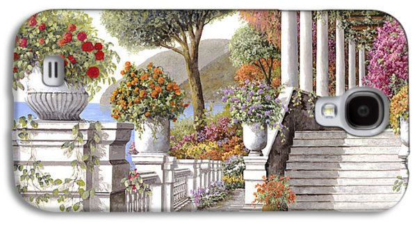 four seasons-summer on lake Como Galaxy S4 Case