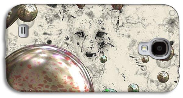 Fox Bubbles  Galaxy S4 Case