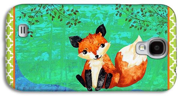 Fox-c Galaxy S4 Case by Jean Plout