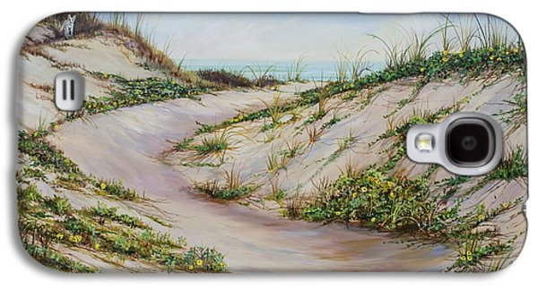 Fox Dunes Galaxy S4 Case by AnnaJo Vahle