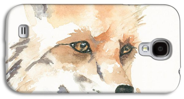 Fox Study 1 Galaxy S4 Case by Kimberly Lavelle