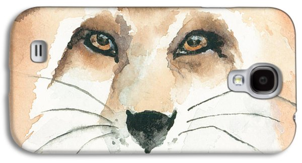 Fox Study 2 Galaxy S4 Case by Kimberly Lavelle