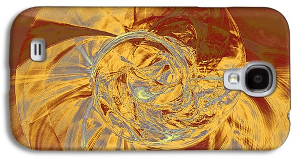 Fractal Ammonite Galaxy S4 Case