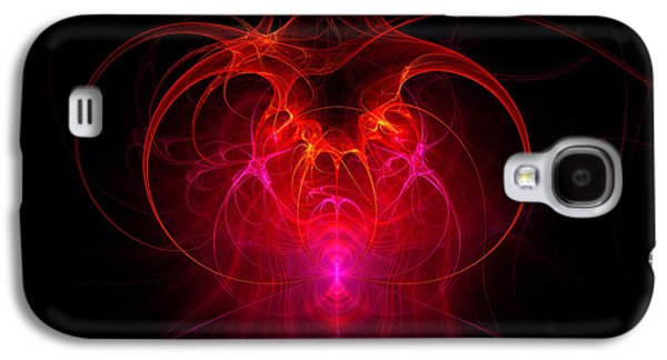 Fractal - Science - The Neural Network Galaxy S4 Case