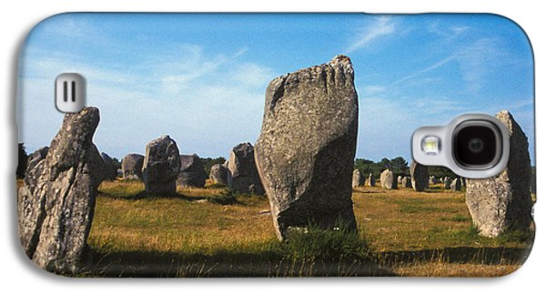 France Brittany Carnac Ancient Megaliths  Galaxy S4 Case by Anonymous
