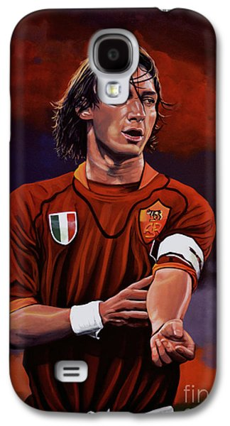 Sports Galaxy S4 Case - Francesco Totti by Paul Meijering