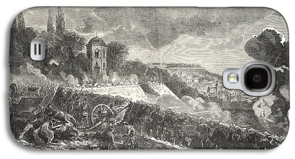 Franco-prussian War Scene From The Defense Of The Park Galaxy S4 Case by French School