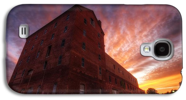 Breweries Galaxy S4 Case - Frank Jones Brewery Sunset by Eric Gendron