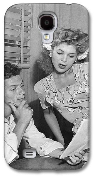 Frank Sinatra & Eileen Barton Galaxy S4 Case
