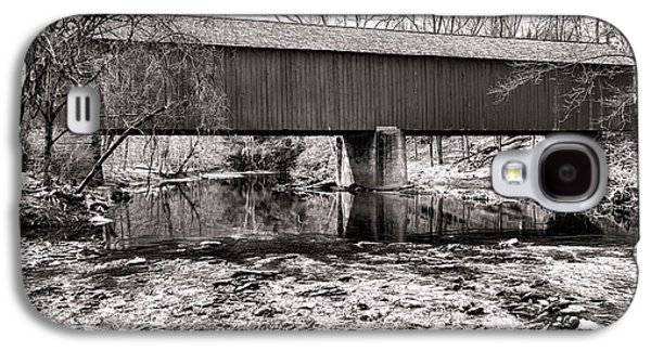 Frankenfield Bridge Over The Tinicum Creek Galaxy S4 Case by Olivier Le Queinec