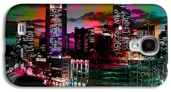 Frankfurt Germany Skyline Galaxy S4 Case by Marvin Blaine