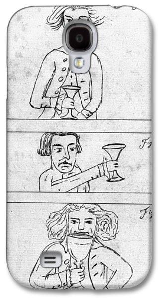 Franklin Drinking Galaxy S4 Case by Granger