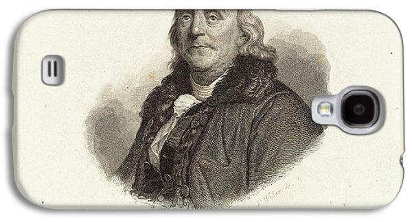 Franz Weber Austrian, 1760-1818, Benjamin Franklin Galaxy S4 Case by Litz Collection