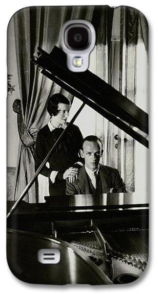 Fred And Adele Astaire At A Piano Galaxy S4 Case by Cecil Beaton