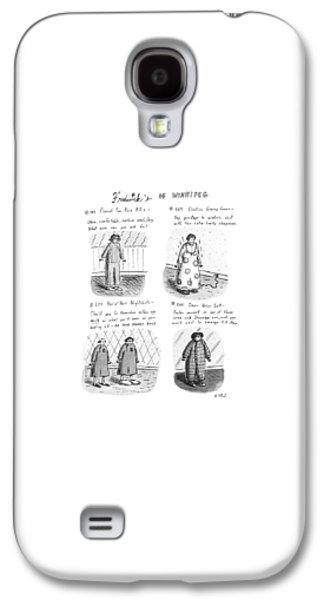 Frederick's Of Winnipeg Galaxy S4 Case by Roz Chast