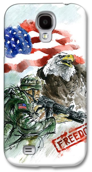 Freedom Usarmy Galaxy S4 Case by Mariusz Szmerdt