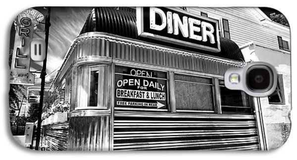 Stainless Steel Galaxy S4 Case - Freehold Diner by John Rizzuto
