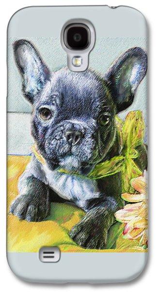 French Bulldog Puppy Galaxy S4 Case by Jane Schnetlage