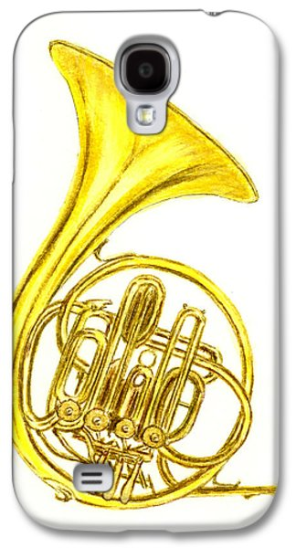 French Horn Galaxy S4 Case by Michael Vigliotti