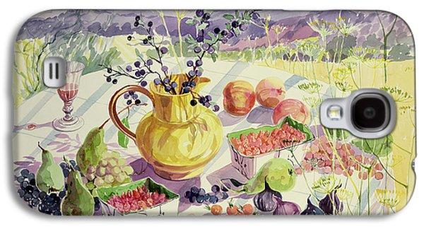 French Table Galaxy S4 Case by Elizabeth Jane Lloyd