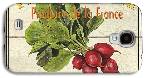 French Vegetable Sign 1 Galaxy S4 Case by Debbie DeWitt