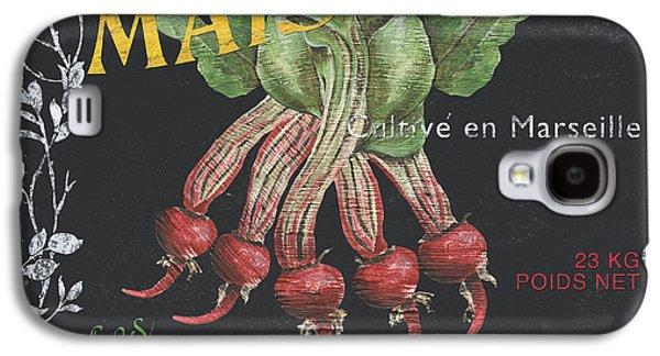 French Veggie Labels 2 Galaxy S4 Case by Debbie DeWitt