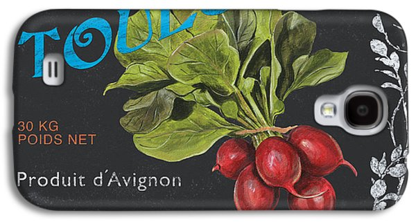 French Veggie Labels 3 Galaxy S4 Case by Debbie DeWitt