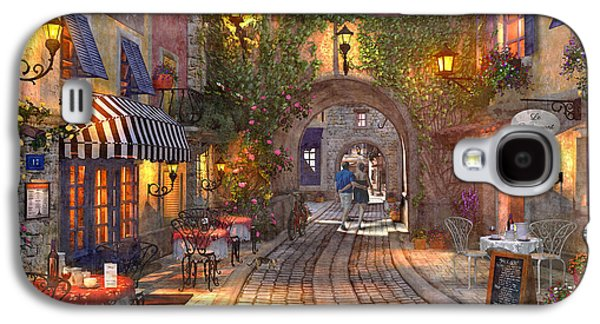 French Walkway Galaxy S4 Case by Dominic Davison