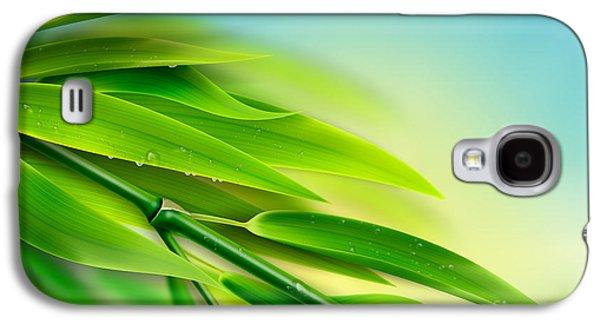 Fresh Bamboo Galaxy S4 Case by Bedros Awak