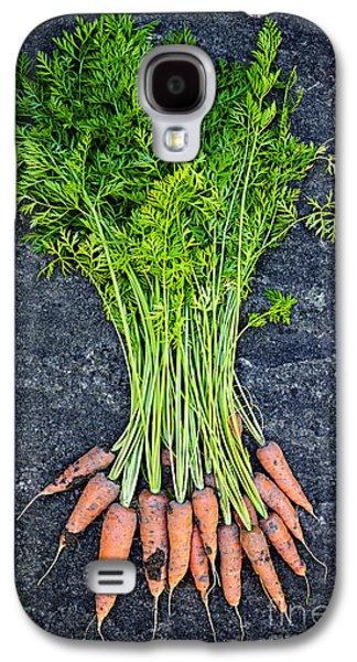 Carrot Galaxy S4 Case - Fresh Carrots From Garden by Elena Elisseeva