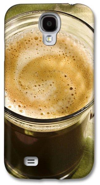 Fresh Coffee In Glassmug Galaxy S4 Case by Iris Richardson