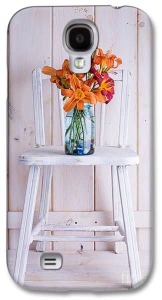 Fresh Day Lilly Flowers  Galaxy S4 Case by Edward Fielding