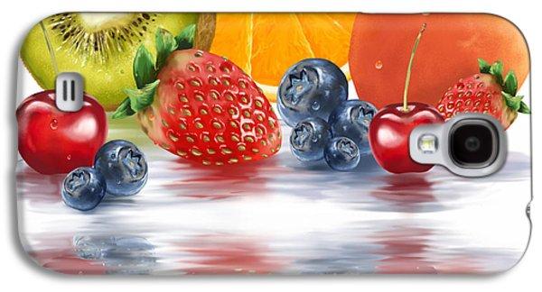 Fresh Fruits Galaxy S4 Case by Veronica Minozzi
