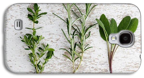 Fresh Herbs Galaxy S4 Case by Nailia Schwarz