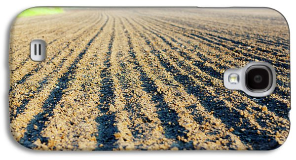 Freshly Ploughed Field Galaxy S4 Case by Wladimir Bulgar