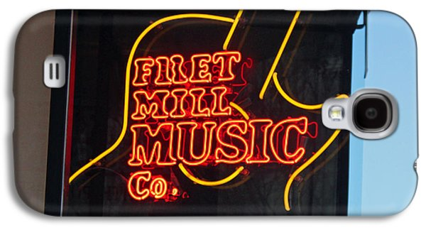 Fret Mill Music Squared Galaxy S4 Case by Suzanne Gaff