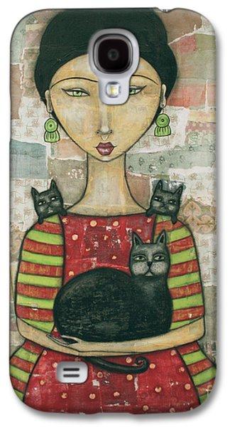 Frida And Friends Galaxy S4 Case by Natalie Briney