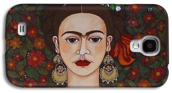 Frida Kahlo With Butterflies Galaxy S4 Case