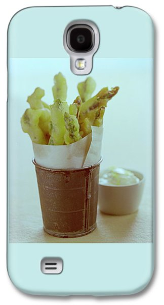 Fried Asparagus Galaxy S4 Case