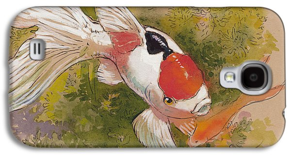 Friendly Fantail Galaxy S4 Case by Tracie Thompson