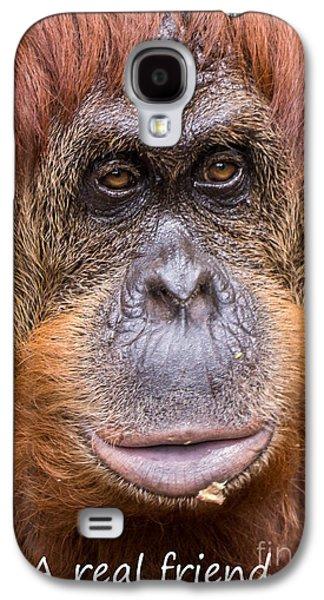 Friendship Card Galaxy S4 Case by Edward Fielding