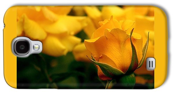 Friendship Roses Galaxy S4 Case by Rona Black