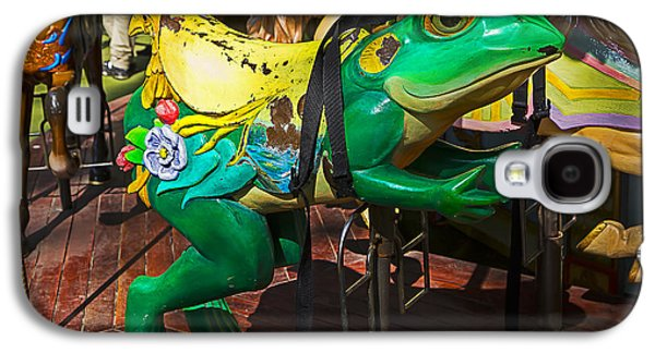 Frog Carrousel Ride Galaxy S4 Case by Garry Gay