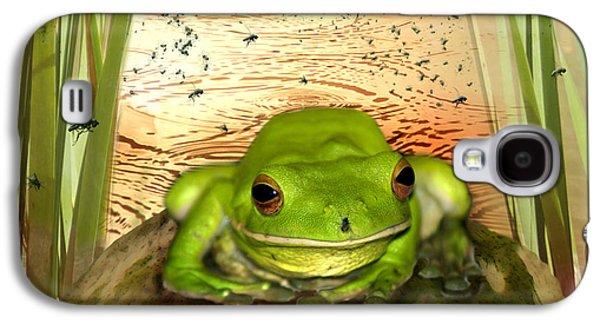 Froggy Heaven Galaxy S4 Case by Holly Kempe
