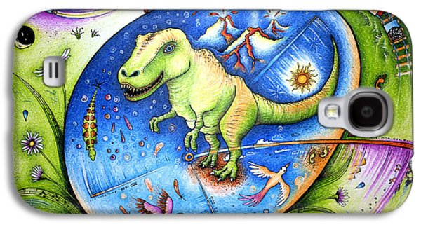 Since The Time Of Dinosaurs  Galaxy S4 Case by Ida  Novotna