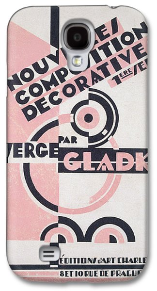 Front Cover Of Nouvelles Compositions Decoratives Galaxy S4 Case by Serge Gladky