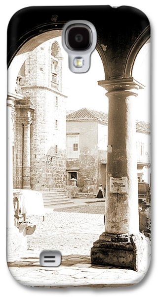 Front Of Cathedral, A Bit Of Old Havana, Cuba, Cathedrals Galaxy S4 Case